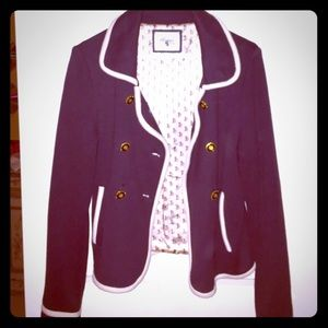 Blazer look sweater